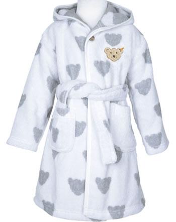 Steiff bathrobe BEARS BASIC bright white 0021309-1000