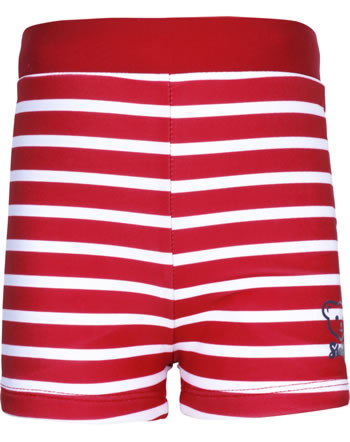 Steiff Swimming shorts CRAB MEETS STRIPES BOY tango red 2014606-4008