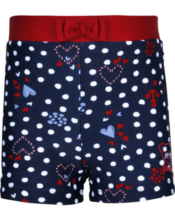 Steiff Swim Shorts NAVY HEARTS GIRL steiff navy 2014604-3032