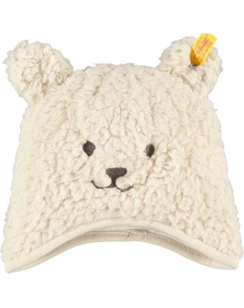 Steiff Bären-Mütze LETS PLAY Baby Boys sandshell 2121328-1005
