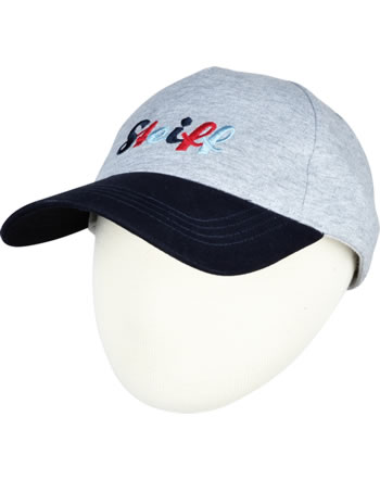 Steiff Baseballcap SEA BEAR soft grey melange 2012414-9007
