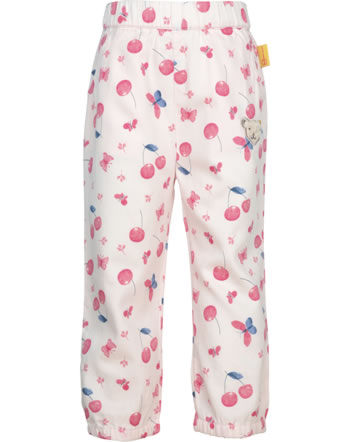 Steiff Cotton Pants BEAR AND CHERRY barely pink 2013212-2560
