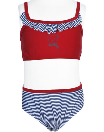 Steiff Bikini NAVY HEARTS tango red 2014609-4008