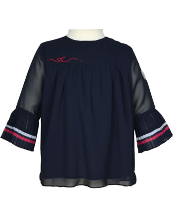 Steiff Blouse long sleeve BEAR TO SCHOOL Mini Girls steiff navy 2021216-3032