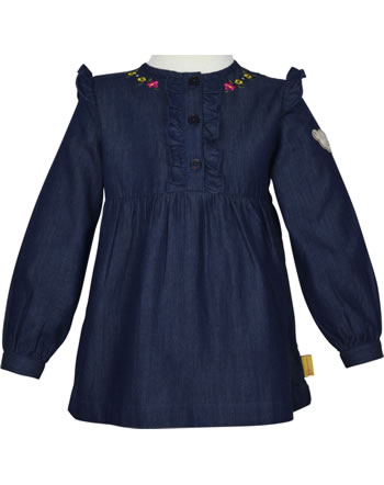 Steiff Blouse long sleeve PONYFUL Mini Girls mood indigo 2022207-6049