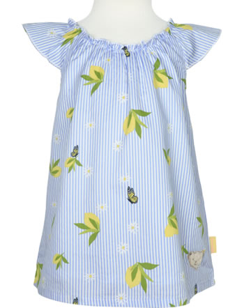 Steiff Bluse / Tunika HELLO SUMMER Mini Girls brunnera blue 2113201-6043