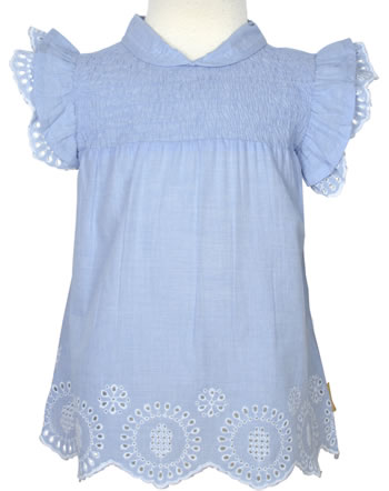 Steiff Blouse / tunica half arm HELLO SUMMER Mini Girls brunnera blue 2113203-6043