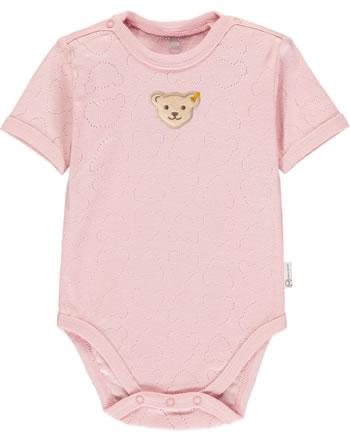 Steiff Body Kurzarm BABY GOTS UNISEX bridal rose 2112507-3030