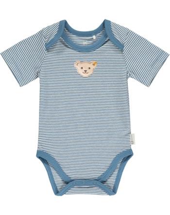 Steiff Body Kurzarm BABY GOTS UNISEX coronet blue 2112503-6048