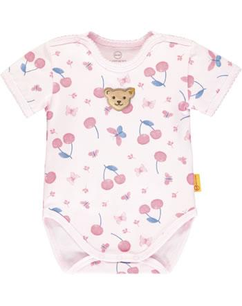 Steiff Bodysuit BEAR AND CHERRY barely pink 2013204-2560