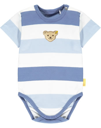 Steiff Body Kurzarm HELLO SUMMER Baby Boys coronet blue 2113303-6048