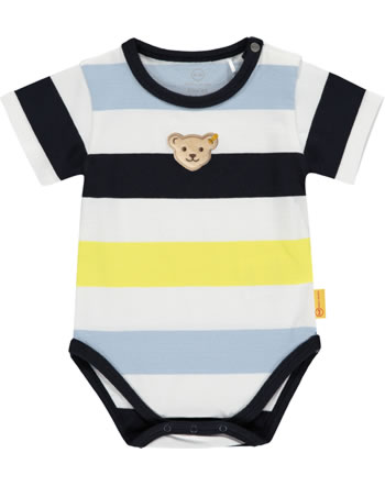 Steiff Body Kurzarm HELLO SUMMER Baby Boys steiff navy 2113303-3032