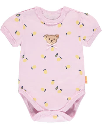 Steiff Body Kurzarm HELLO SUMMER Baby Girls pink lady 2113441-3033