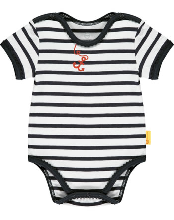 Steiff Bodysuit MARINE AIR Baby Girls steiff navy 2112402-3032