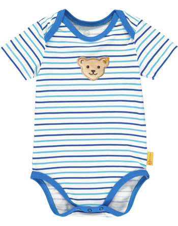Steiff Bodysuit SAFARI BEAR bright white 2013103-1000