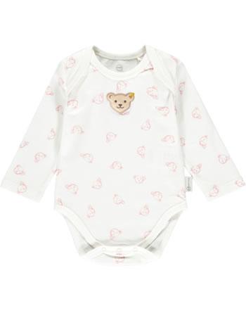 Steiff Body Langarm BABY GOTS UNISEX bridal rose 2112505-3030
