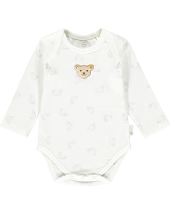 Steiff Body Langarm BABY GOTS UNISEX gray dawn 2112505-6064