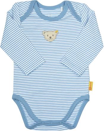 Steiff bodysuit long sleeve BEAR CREW stripes forever blue 2012101-6027