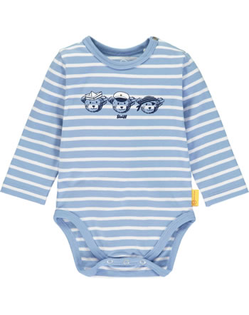 Steiff bodysuit long sleeve BEAR CREW stripes forever blue 2012107-6027