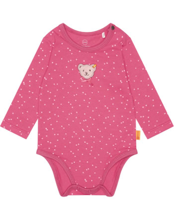 Steiff Body Langarm BEST FRIENDS Baby Girls claret red 2123419-3057