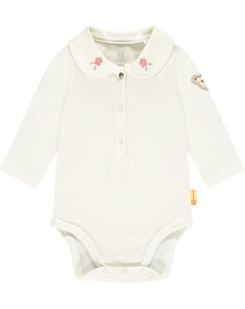 Steiff Body Langarm BEST FRIENDS Baby Girls winter white 2123412-1060