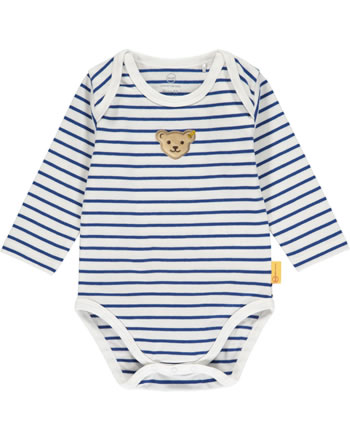 Steiff Body Langarm FISH AND SHIP Baby Boys bright white 2112301-1000
