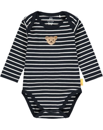 Steiff Bodysuit long sleeve FISH AND SHIP Baby Boys steiff navy 2112301-3032