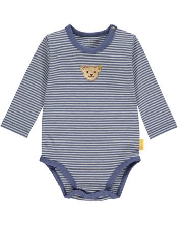 Steiff Body Langarm LETS PLAY Baby Boys bijou blue 2121320-6066