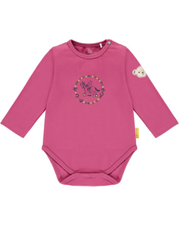 Steiff Bodysuit long sleeve PONYFUL Baby Girls carmine 2022436-7046