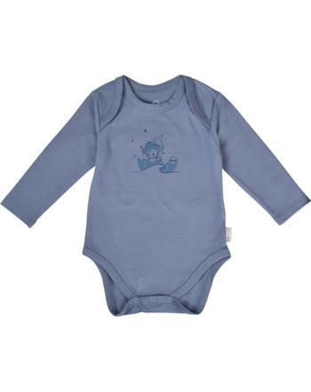 Steiff Body pour bébé mances longues RAINDROPS BABY ORGANIC stonewash 2022503-6059