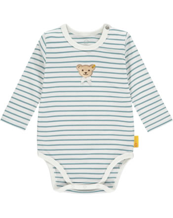 Steiff Body Langarm SWEET HEART Baby Girls adriatic blue 2121426-6045