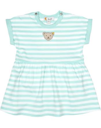 Steiff Baby bodysuit w. skirt short sleeve SUMMER BRIGHTS blue light 001913411-5008
