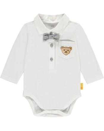 Steiff Body mit Fliege Langarm SPECIAL DAY Baby Boys bright white 2124313-1000