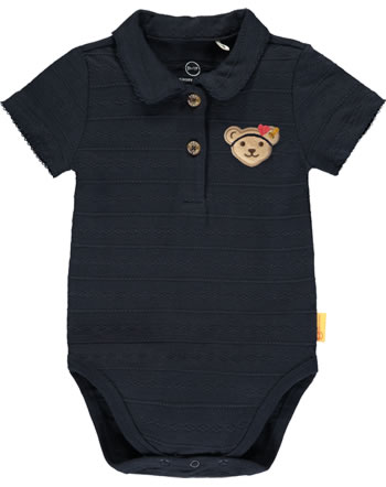 Steiff Body mit Kragen Kurzarm MARINE AIR Baby Girls steiff navy 2112406-3032