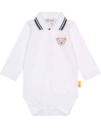Steiff Body mit Kragen Langarm SPECIAL DAY Baby Boys bright white 2124308-1000