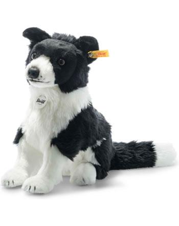 Steiff Border collie 28 cm black/white sitting 122463