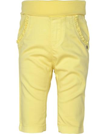 Steiff Pants HELLO SUMMER Baby Girls yellow cream 2113411-2005