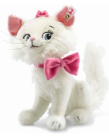 Steiff Disney Aristocat Marie 21 cm Mohair weiß sitzend 355554