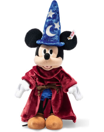 Steiff Mickey Mouse magicien 30 cm Mohair coloré 354397