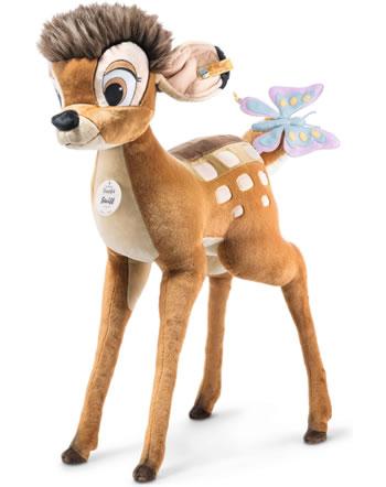 Steiff Disney Studio Bambi mit Schmetterling 100 cm braun 501050