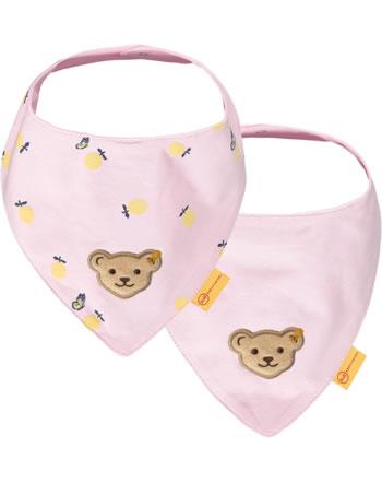 Steiff Dreieckstuch 2er Pack HELLO SUMMER Baby Girls pink lady 2113409-3033