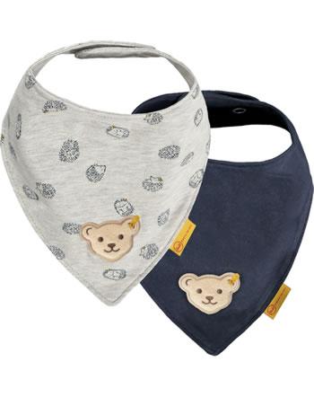 Steiff Dreieckstuch 2er Pack LETS PLAY Baby Boys nimbus cloud 2121345-9017