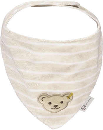 Steiff Neckerchief BEAR HUGS velours sandshell 2022613-1005 GOTS