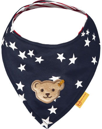 Steiff Dreieckstuch BEAR TO SCHOOL steiff navy 2021410-3032