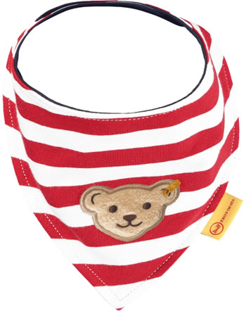 Steiff Dreieckstuch BEAR TO SCHOOL tango red2021333-4008