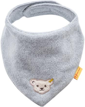 Steiff Dreieckstuch Fleece BASIC soft grey melange 0021117-9007
