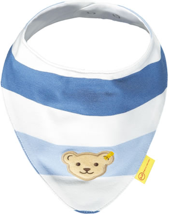 Steiff Dreieckstuch HELLO SUMMER Baby Boys coronet blue 2113313-6048