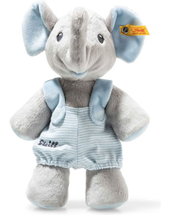 Steiff Elefant Trampili 24 cm grau/blau 241673