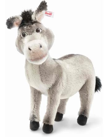 Steiff Esel Shrek 30 cm Mohair grau stehend 355578