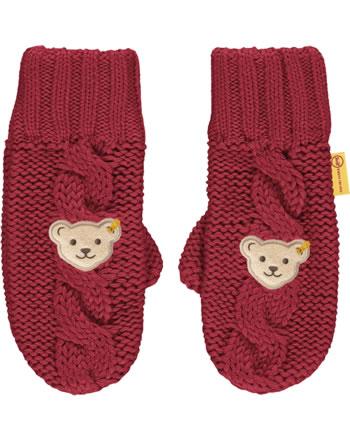 Steiff Gloves FLYING AWAY Mini Girls tango red 2122225-4008